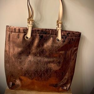 Bronze Metallic Michael Kors Bag